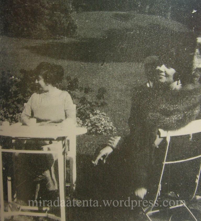 Zelmira y Regina Pachini, tomada del libro los años dorados de dodero